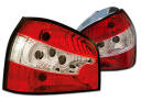 LAMPY TYLNE AUDI A3 96-03 RED WHITE