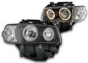 VW TRANSPORTER T4 LAMPY RINGI BLACK DESIGN