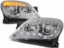 OPEL ASTRA H 04-10 LAMPY DAYLIGHT LED CHROM