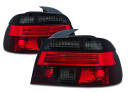 BMW E39 95-00 LAMPY TYLNE SEDAN RED SMOKE