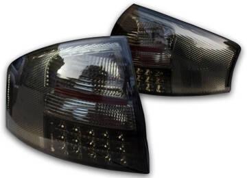 Audi A6 C5 97 04 Lampy Tył Led Smoke