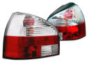 LAMPY TYLNE AUDI A3 96-00 RED WHITE