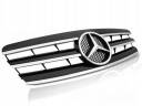 MERCEDES C W203 00-07 GRILL CL STYLE BLACK CHROME