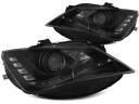 SEAT SEAT IBIZA 6J 12-17 LAMPY DRL DAYLIGHT LED BLACK