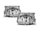 MERCEDES E W210 95-99 HALOGENY CLEAR CHROM