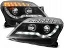 OPEL ASTRA H 04-10 LAMPY DAYLIGHT LED BLACK
